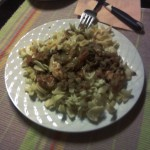 Pasta with Pepper Sauce and Chicken by arlav