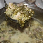 Magiritsa - the Greek Easter soup with intestines